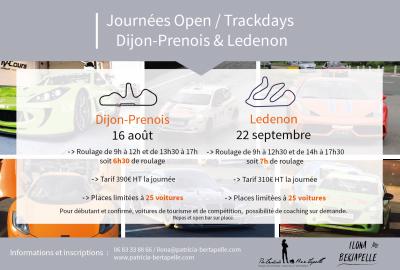 Trackday Dijon Ledenon